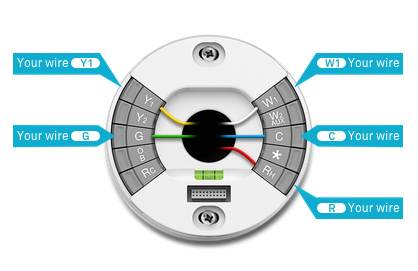Wiring Diagrams For Nest Thermostat on thermostat wiring color code guide
